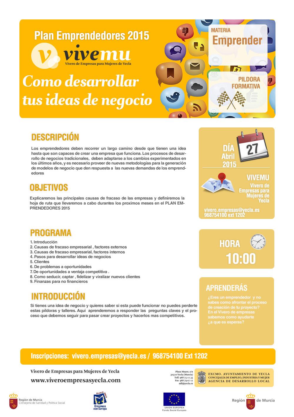 IDEAS DE NEGOCIO - DESCRIPCION